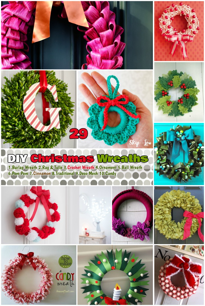 you may buy a flower or leaves made wreath for your ornamentation but making a wreath by your