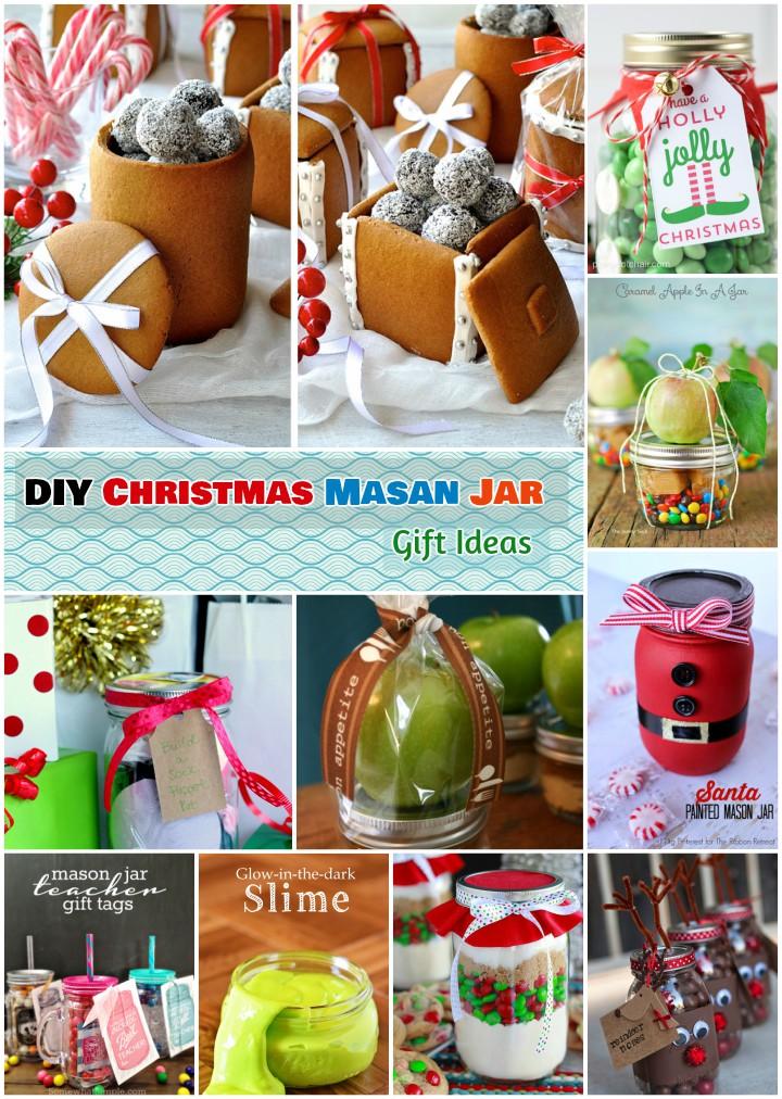 DIY Mason Jar Gift Ideas for Christmas