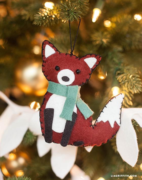 35 Diy Christmas Ornament Ideas Homemade Felt Wood Paper