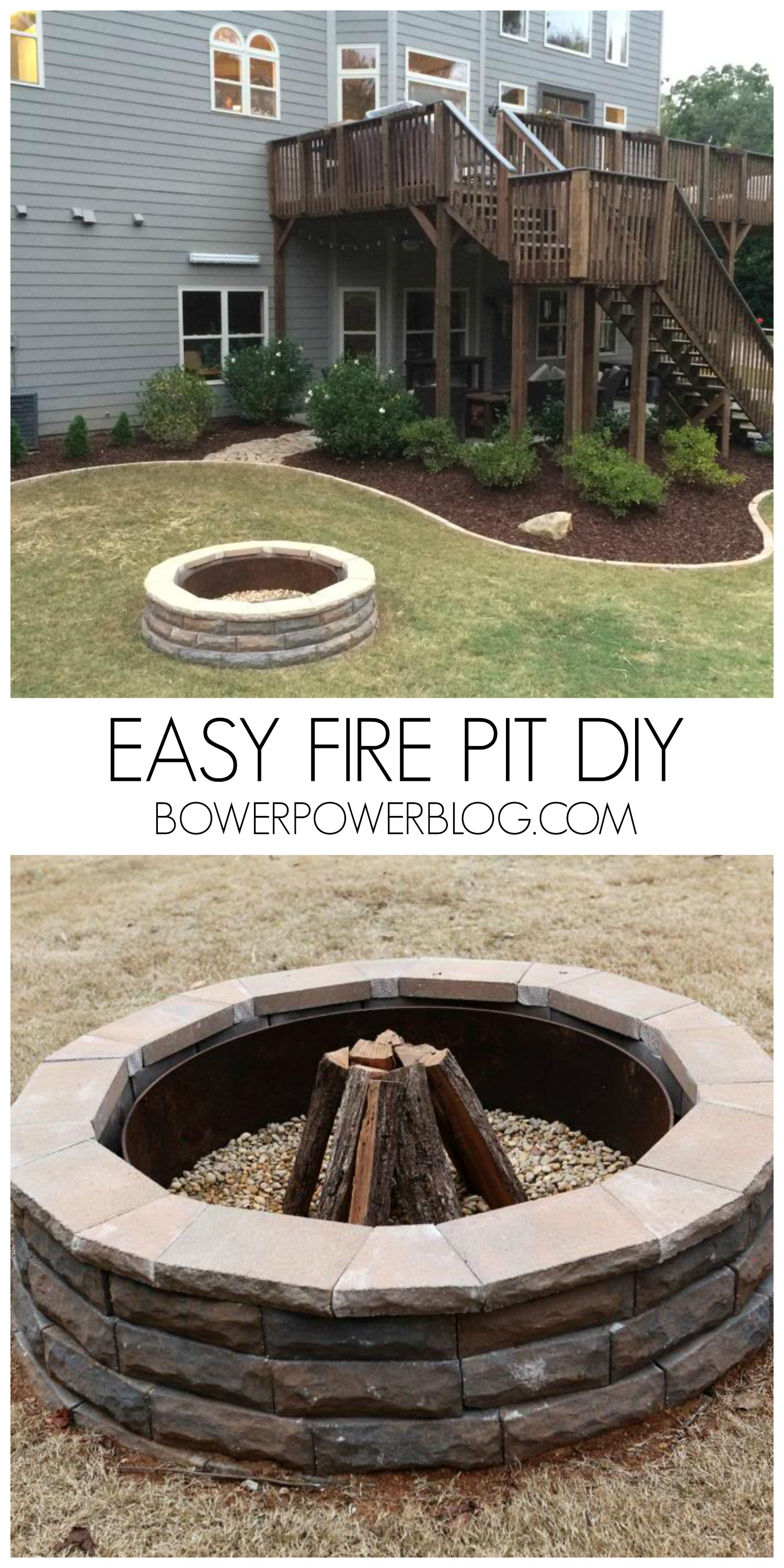 Build it or Weld It 16 Warm Outdoor Stone and Metal Fire Pit Ideas