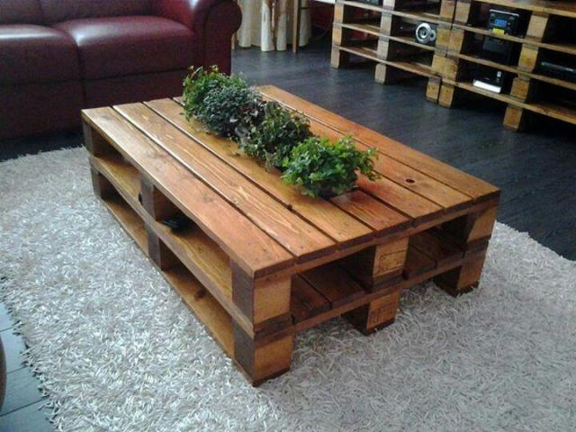 editors choice pallet coffee table - Pallet Coffee Table