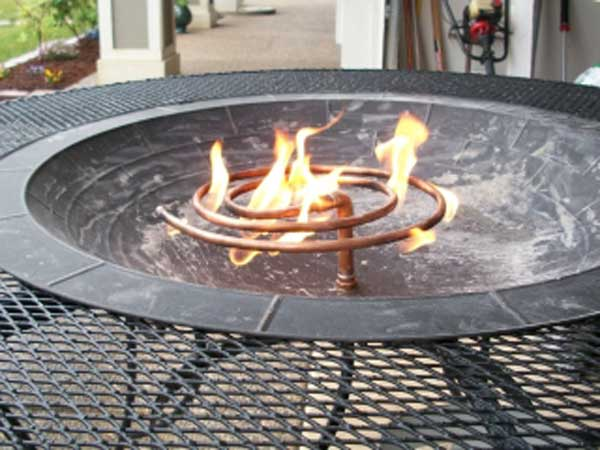 Build It Or Weld It 16 Warm Outdoor Stone And Metal Fire