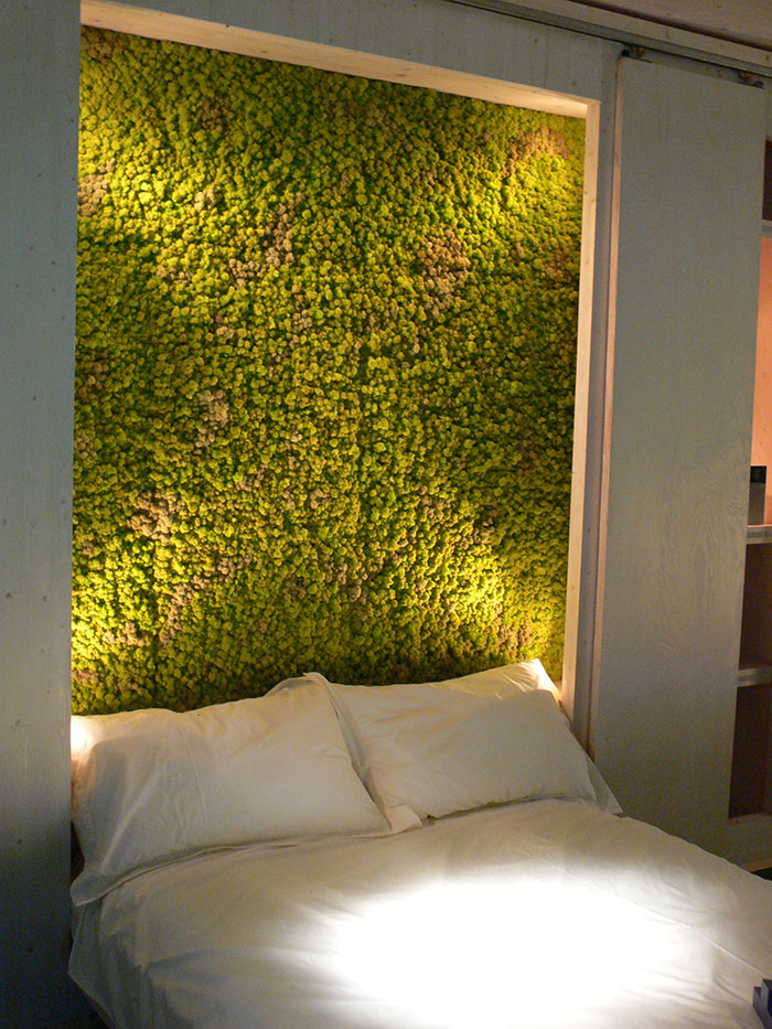 Moss Headboard Bedroom Wall Art