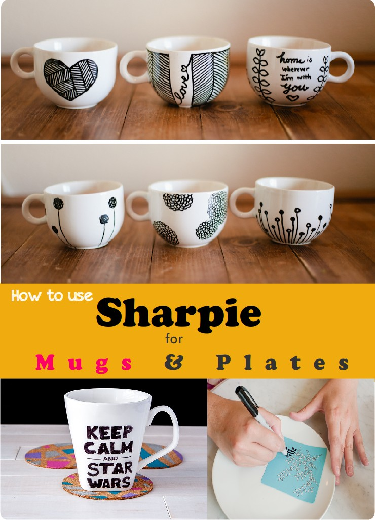 Diy Mugs Sharpie