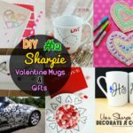 DIY Sharpie Valentines day Gifts and Sharpie Car Doodle