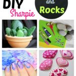 DIY Sharpie Nails and Rock Painting