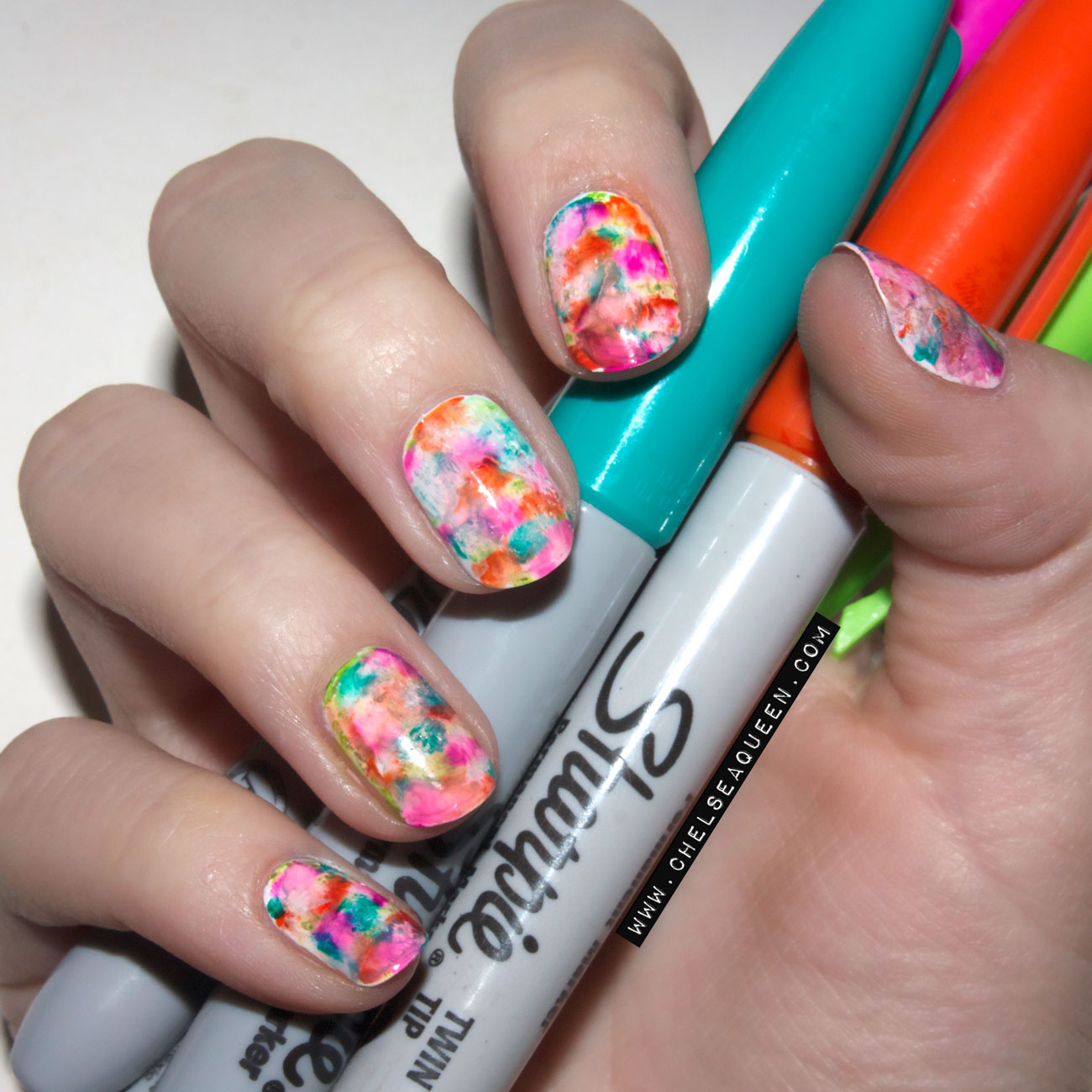 18 Diy Sharpie Nails And Sharpie Rock Pebble Painting