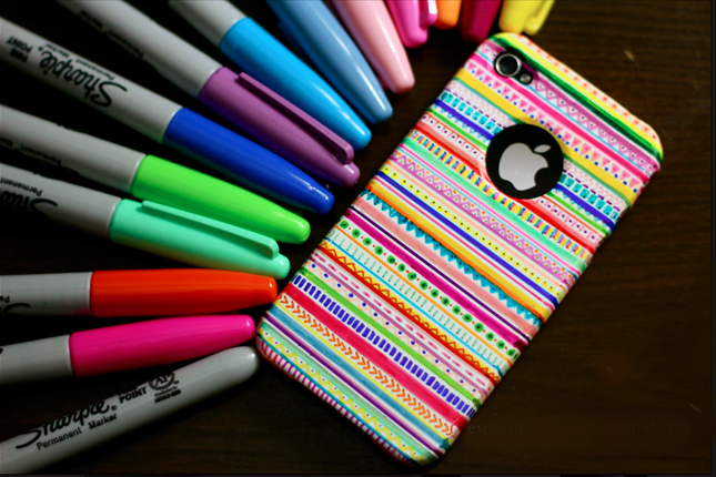 10 Diy Sharpie Phone Cases Sharpie Removal Idea