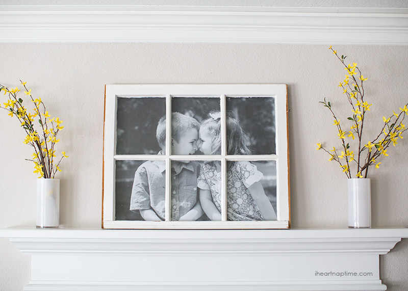 DIY Photo Frames: #26 Creative & Easy Picture Frames { Step by Step }