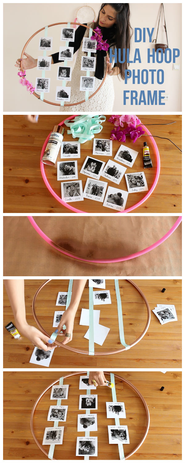 Diy Photo Frames 26 Creative Amp Easy Picture Frames
