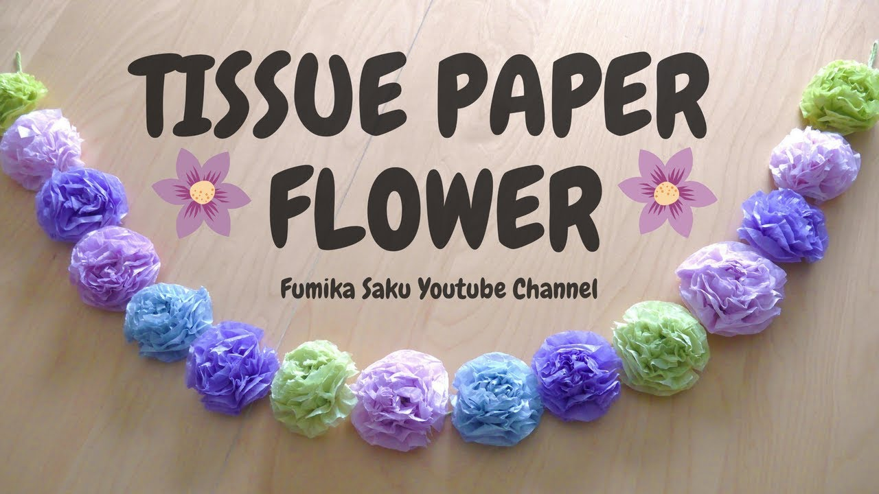 Diy tissue paper flower garland diy craft ideas gardening diy tissue paper flower garland mightylinksfo