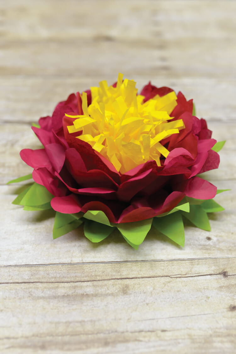 #31 Handpicked DIY Tissue Paper Flowers: Table Decor & Hangings