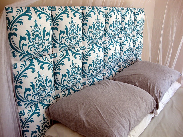 How To Make A Headboard Out Of Fabric