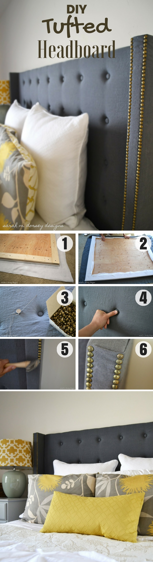12 Aesthetic Headboards For Your Bedroom Diy Fabric