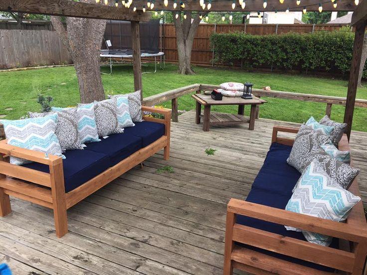 DIY Outdoor Furniture, Outdoor Patio Furniture