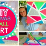 DIY Easy Canvas Wall Art