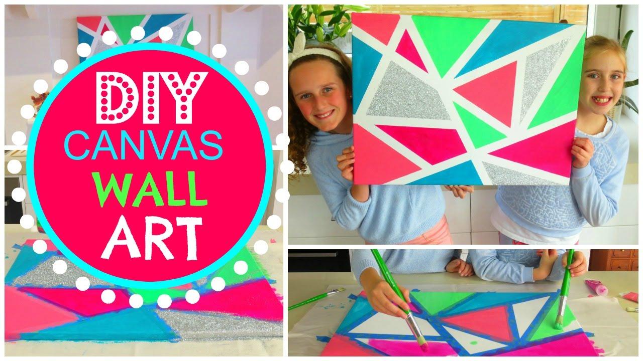 Paint N Peel It Diy Cheap 6 Steps Effortless Canvas Wall