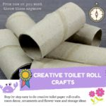 Toilet Paper Roll Crafts Decor and Ornaments