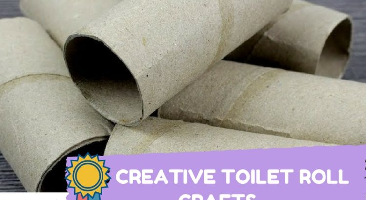 5 Toilet Paper Roll Crafts Room Decor Ornaments And Storage