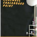 DIY Chalkboard Paint for Endless Fun
