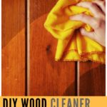 DIY: Homemade Wooden Floor n Wood Cleaner