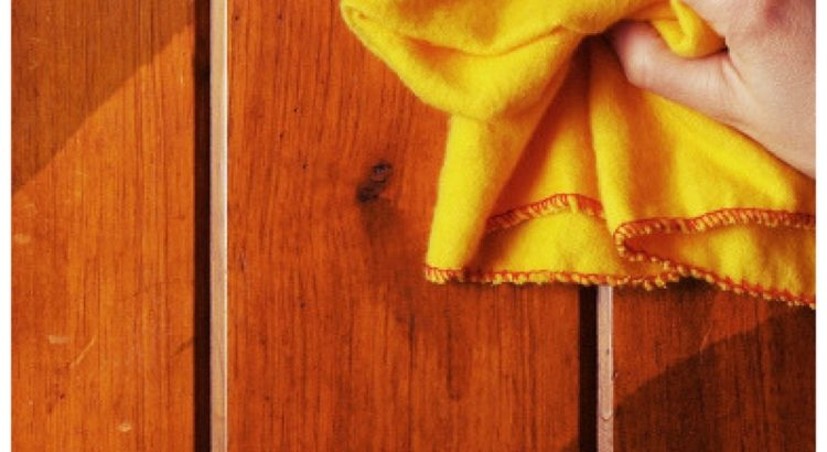 All Natural DIY Wood Cleaner: Homemade