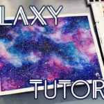 My DIY Galaxy Painting Materials n Steps
