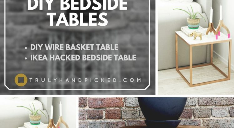 Admirable Diy Bedside Tables Wire Basket Table Cheap Ikea Bedside Table Download Free Architecture Designs Pendunizatbritishbridgeorg