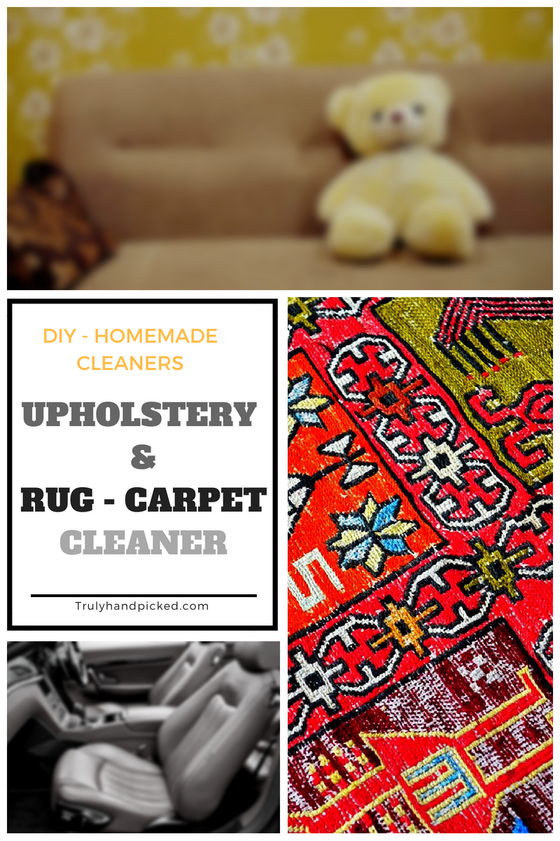 DIY Cleaners: Homemade Stain Busters