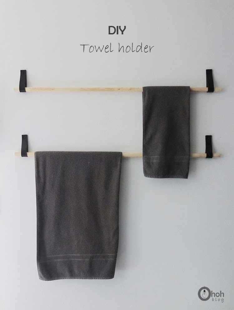 23 Diy Bathroom Storage Ideas Towel Holders Racks And Hooks
