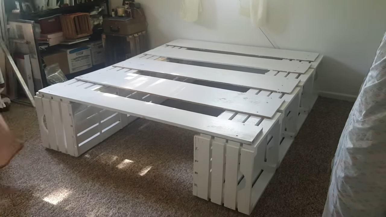 19 Inexpensive Diy Pallet Bed Frames Day Bed Ideas Invest On Mattress