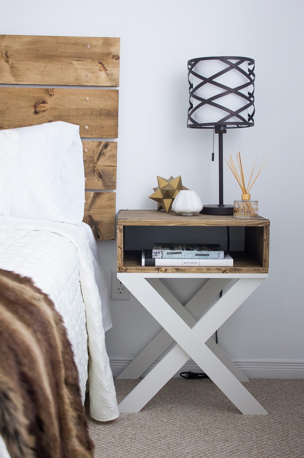30 Super Cool Diy Nightstands Nightstand And Bedside Table Ideas