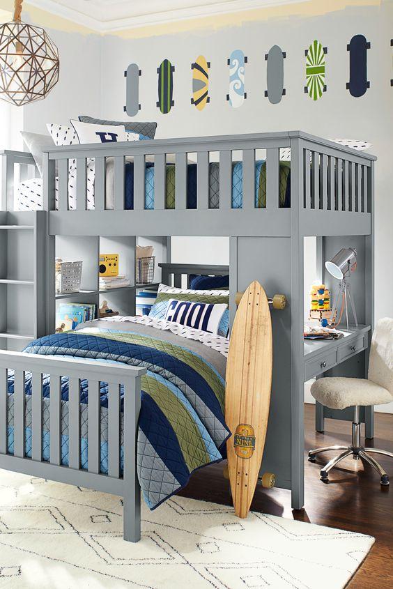 39 Cozy Diy Bunk Beds Amp Loft Bed Build Plans Kids Amp Teen
