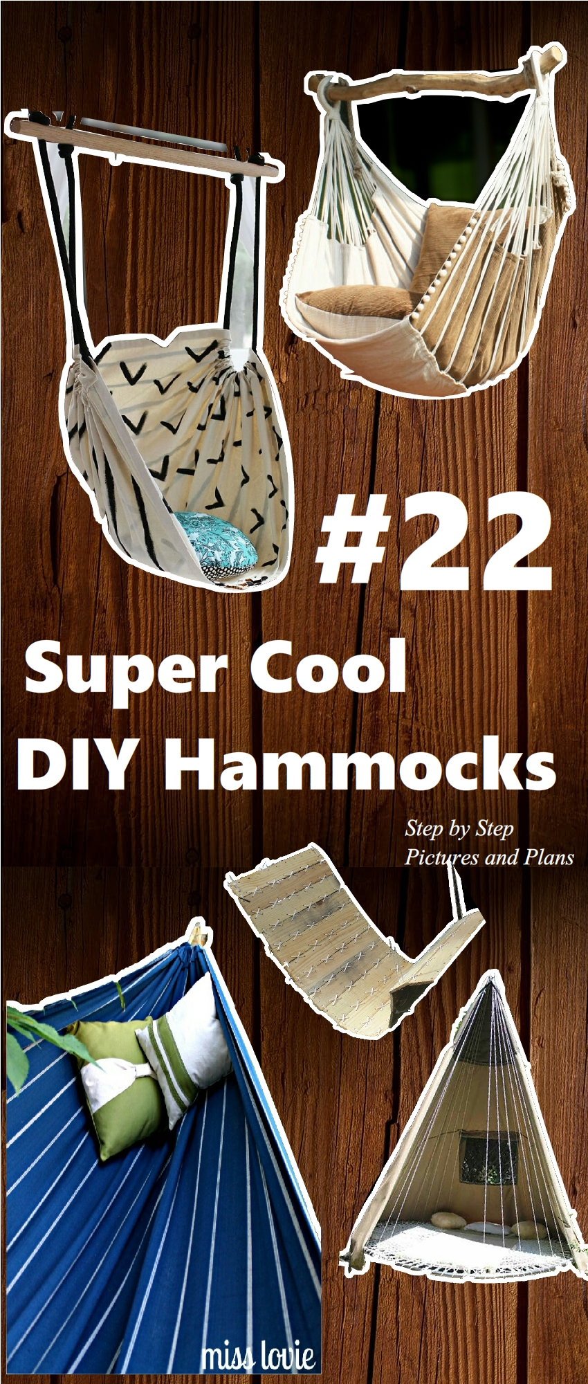Hammock Stand Designs : Diy hammocks and hammock stand ideas fabric knotted style