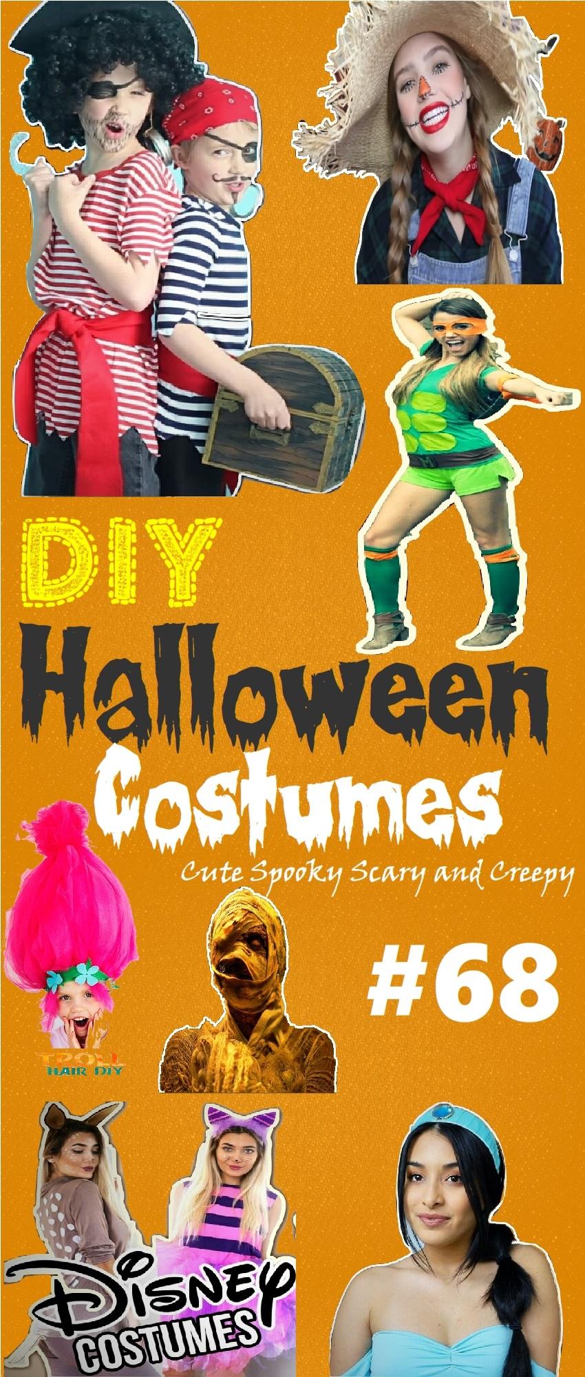 94 diy halloween costumes 2018: surprisingly cute, scary & creepy