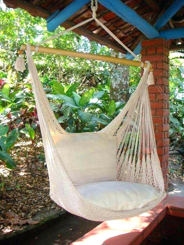 22 Diy Hammocks And Hammock Stand Ideas Fabric Knotted Style