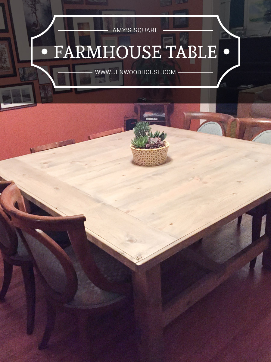 anna white furniture plans. d diy square farmhouse table inspired by anna white plan