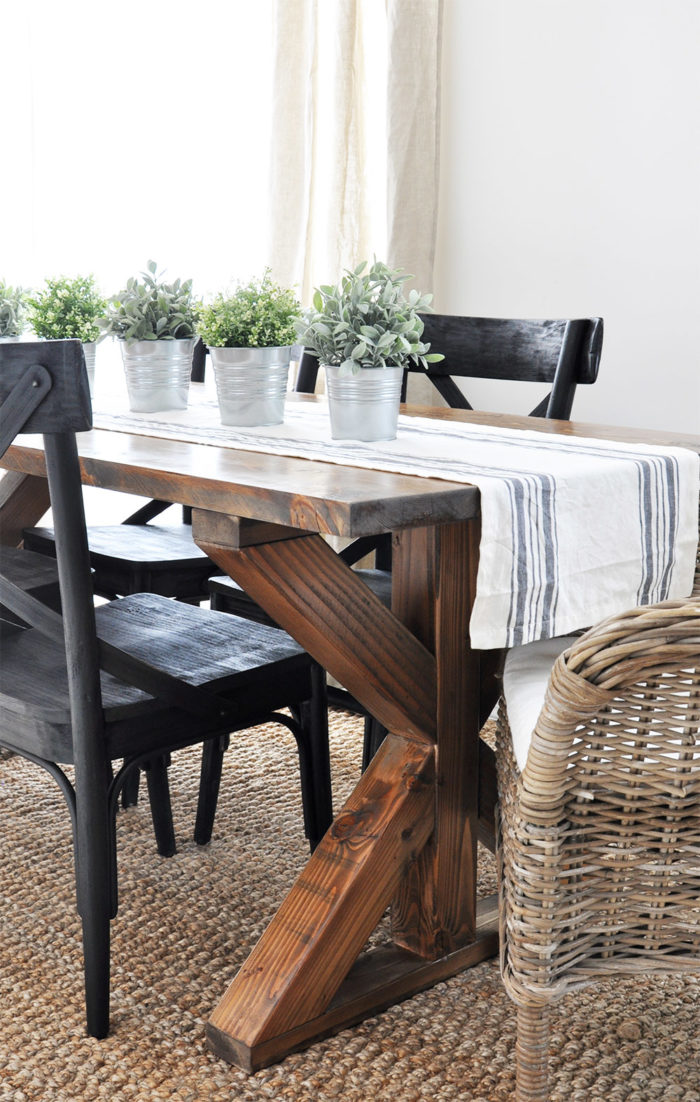 Admirable 25 Rock Solid Diy Farmhouse Table Bench Plans Classic Download Free Architecture Designs Meptaeticmadebymaigaardcom