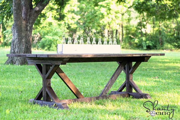 25 Rock Solid Diy Farmhouse Table Bench Plans Classic