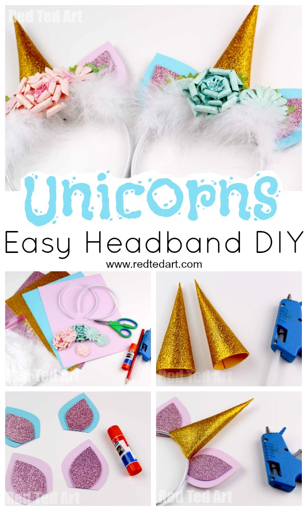 DIY Unicorn Headband Is A Superb Decorative Object For Any Type Of Party Adornment Especially Where The Theme Magical Or Fantasy Based