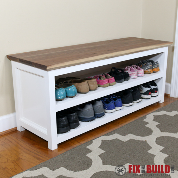 This Is A Beautiful Project That Could Transform Your Simple House Entrance Or Entryway Into An Organized Mudroom With Pretty Shoe Bench