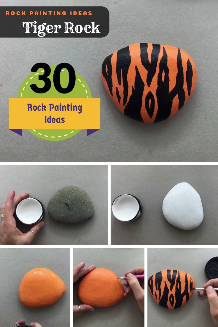 30 Diy Rock Painting Ideas Best For Summer And Winter Craft Activities