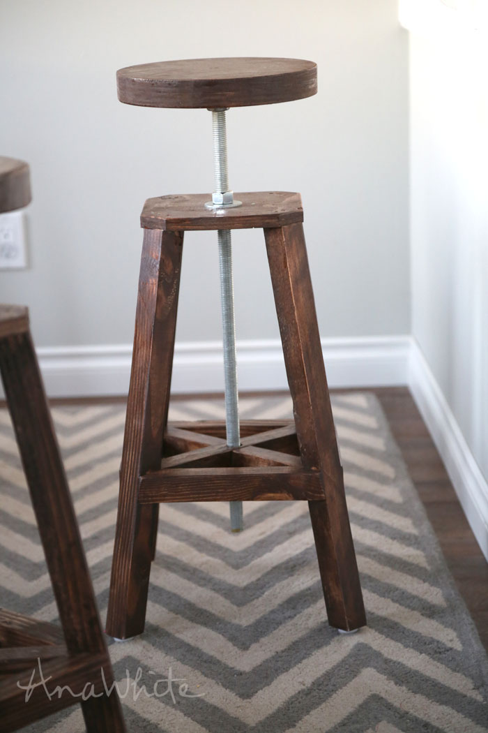 Awesome Diy Bar Stool Plans Machost Co Dining Chair Design Ideas Machostcouk