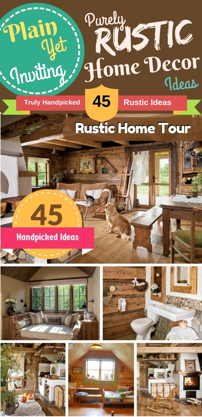 45 Diy Rustic Home Decor Ideas Warm And Inviting Decor Ideas