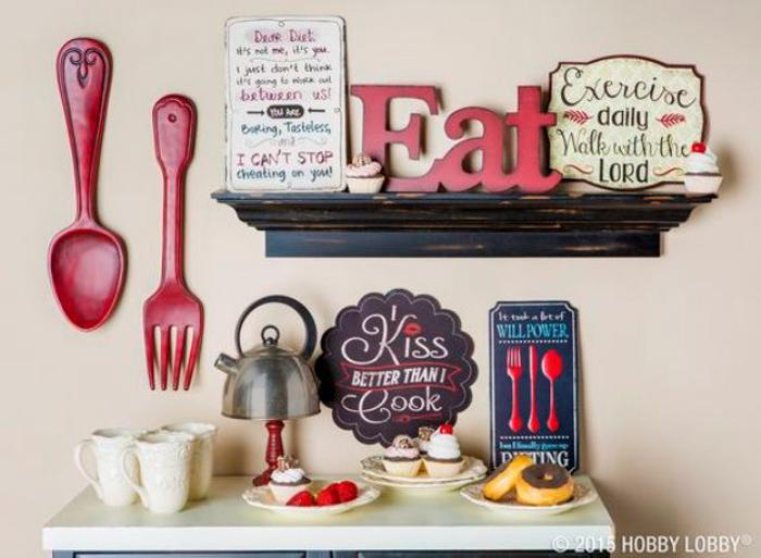 40 Diy Kitchen Wall Decor Ideas Creative Farmhouse And